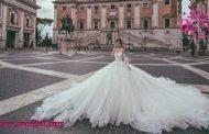 انتخاب لباس عروس از بهترین مزون های لباس عروس