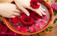 عصاره یک گل و درخشان کردن پوست