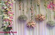 تزئینات و گلآرایی عروسی و نامزدی