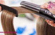 ترفندهای اتو کشیدن مو