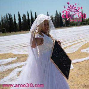 ثبت لباس عروس در کتاب گینس