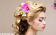 رنگ موی عروس در عروسی