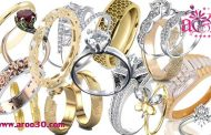 نشانی و حلقه ازدواج عروس و داماد