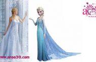 لباس عروس با الهام از لباسهای شخصیتهای معروف پرنسسهای دیزنی